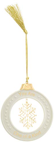 Lenox 878966 Sentiment You Are One of a Kind Friend Ornament
