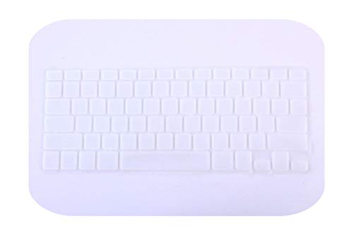 New Korean Keyboard US Version Silicone Protector Stickers Skin For Macbook Air 13 For Mac Pro 13 15 17 Retina Keyboard Cover-transparent-