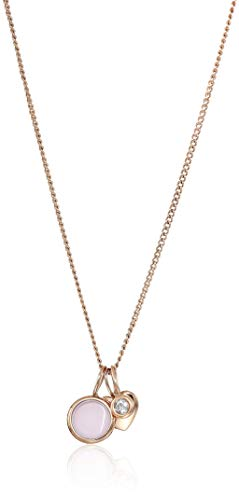 Fossil Gold-Tone Stainless Steel Necklace