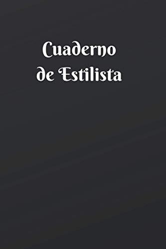 Cuaderno de Estilista: Cuaderno de diseño de moda | Libro de modelos | Libreta de dibujo de moda