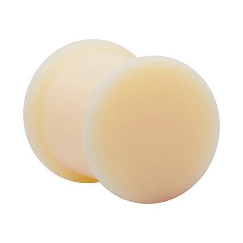 Crazy Factory Plug aus Silikon   10mm • Hautfarbe • Piercing • Ohr • Günstig • Basic • Top Qualität