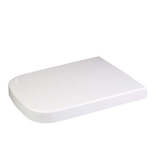 XXHDEE Copriwater coprivaso Quadrato Antibatterico Facile da Pulire, Spesso e Super Resistente Coperchio del WC