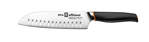 Bra Efficient Cuchillo Santoku, Acero Inoxidable, Gris, 3x5x