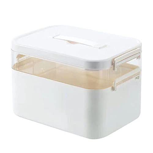 fansheng Medicinsk låda hushåll stor kapacitet familj dubbla lager medicinlåda . medicin skåp akut vård förvaringsbox
