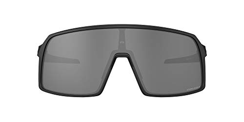 Oakley Men's OO9406 Sutro Rectangular Sunglasses, Matte Black/Prizm Black, 137 mm