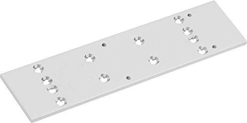 Montageplatte DORMA für TS 83, silber ; 1 Stück