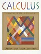 Calculus with Analytic Geometry, Alternate 6th Edition by Larson, Ron, Hostetler, Robert P., Edwards, Bruce H. [Hardcover]