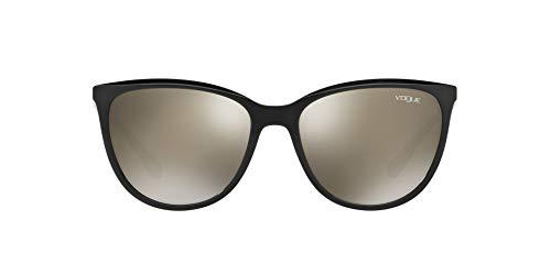 Vogue Gafas de sol cuadradas con protección UV para mujer - (0VO5119SIW44/5A56|56|Lente color marrón)