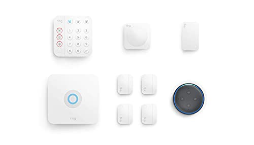 8-piece kit (2nd Gen) Ring Alarm with Echo Dot (3rd Gen) Only $199.99 (Retail $289.98)