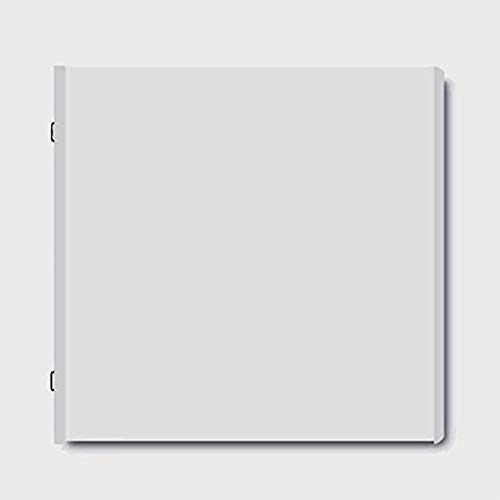 Creative Memories Nachfüllblätter mit Schutzfolien, Weiß, 20 x 20 cm, 12 Stück