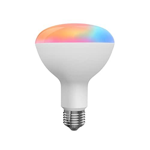 SOLE HOME Tuya Smart Light Bulbs, WiFi Bluetooth Compatible con Smart Home Life, APP Control Remoto Funciona con Alexa Echo y Google Home, No requiere Hub 10W