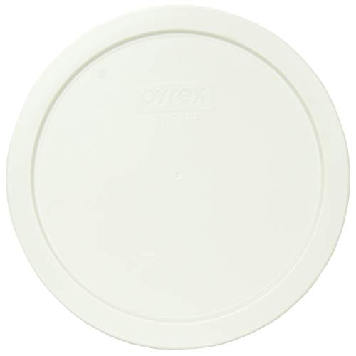 Pyrex 7402-PC 6/7 Cup White Round Plastic Food Storage Lid