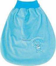 Baby Matex Baby Pucksack/Schlafsack/Autositz Strampelsack - verschiedene Farben blau