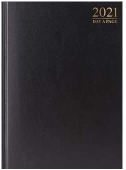 2021 A4//A5 Diary Day to Page or Week to View Desk Diary Hard Backed Diary