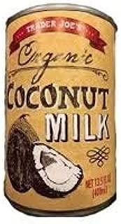 Trader Joe's Organic Coconut Milk 13.5 Fl oz (CASE OF 6)