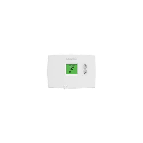 Honeywell TH1100DH1004 Horizontal PRO 1000 Non-Programmable Thermostat Heat Only Dual Powered Backlit