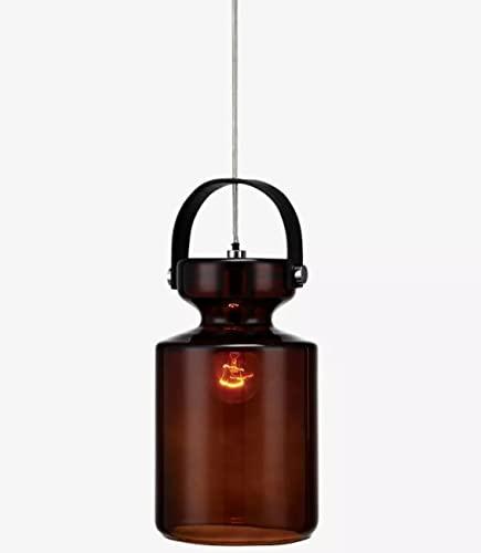 Mark Slöjd 105913 Lampe suspension, verre, argent