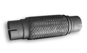 Raccord flexible Echappement Type M 0455mm 250mm ADNAuto