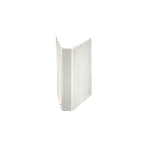 ESSELTE Raccoglitore Display in PP personalizzabile (3 tasche) ad anelli 4- 40 - D - f.to maxi - Bianco - 394753000
