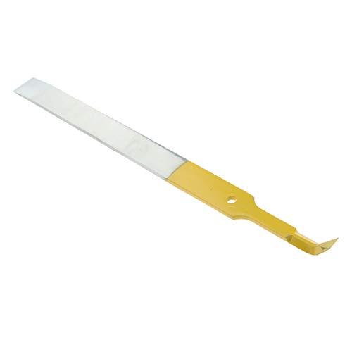 B Blesiya Miel Uncapping Fork Honeycomb Honey Scraper Manche En Bois Apiculture Outils