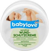 babylove Wundschutzcreme sensitive, 1 x 150 ml