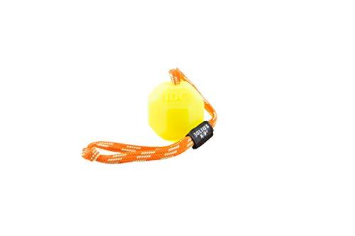 Julius-K9 242-BLL-60, Fluoreszierender Ball mit Schnur, innen hohl, 60mm