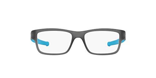 Oakley 0OY8005 Monturas de gafas, Satin Grey Smoke, 47 para Hombre