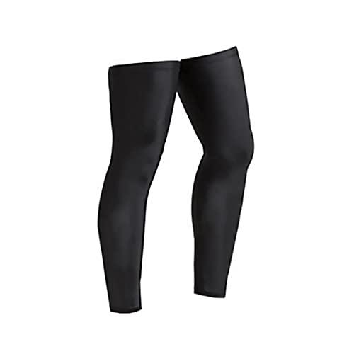 Tuimiyisou Sport Beinschutzhülse Radfahren Laufen Basketball Sports Leg Sleeves Außenschutz-Bein-hülsen-Abdeckung XL 1pair