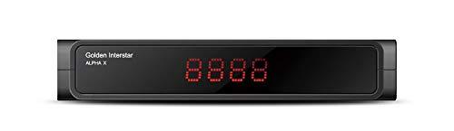 Ricevitore Golden Interstar Alpha X DVB-S2 Linux