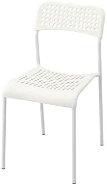 "Ikea TSSP ADDE Chair (Width: 39 cm (15 3/8"") Depth: 47 cm (18 1/2"") Height: 77 cm (30 3/8"")) (White)"