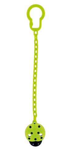 dBb-Remond 170824 - Catenina portaciuccio con coccinella, colore: Verde