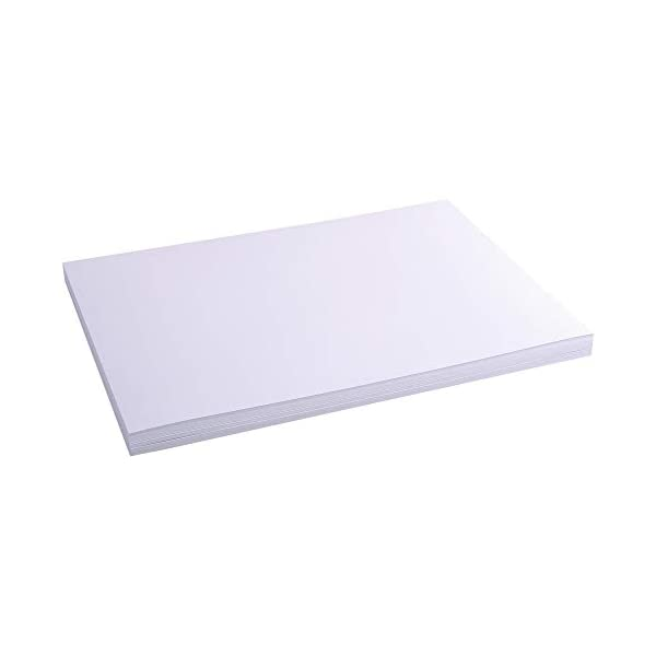 Etui de 100 Fiches Bristol - Blanc Uni Non Perfore 297x420mm : Un paquete con 100 tarjetas por Exacompta. Las fichas están empaquetadas en una conveniente caja plegable de cartón. Cartulina calibrada, el 205 g empaquetado 100 piezas. en blanco DIN A4 100 St - con plegable verde Geben Usted Su Modelo Uno, Um Sicherzustellen, Dass Dieser Artículo Apto Formato: Din A4, 21 X 29,7 Cm. Fallo : Blanco