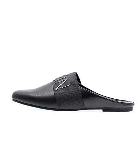 Calvin Klein Jeans YW0YW00153 Zapatos Bajos Zueco Mujer Negro 36