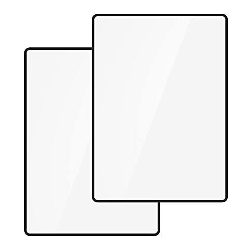 Mox 3X (300%) Vergröserung Leselupen Vergrößerungsglas für ganze Seiten Fresnel Lens Lupe für Senioren und zum Lesen, Schmuck, Bücher, Landkarten(2 Stück, 4.70