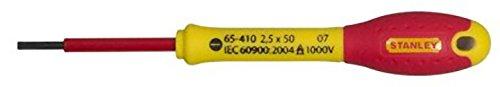 Stanley 0-65-410 Destornillador FatMax Plana 2,5 X 50 mm, 2.5X50mm
