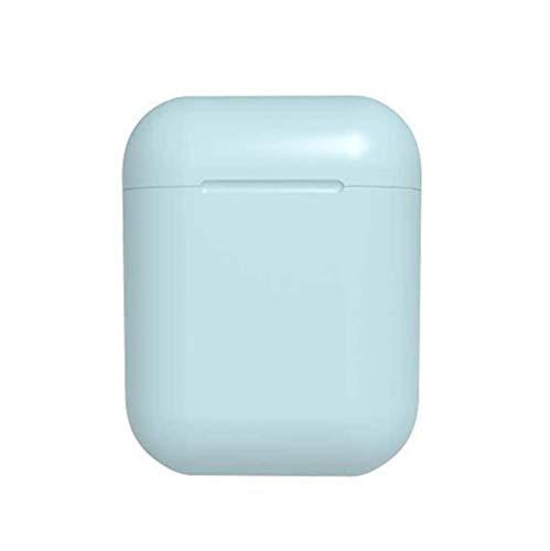 Inpods 12 Pk i14 TWS Auricolare Bluetooth 5.0 Auricolare Senza Fili Auricolare Senza Fili Con Microfono Siri (Rosa cuffia) (Cielo blu)