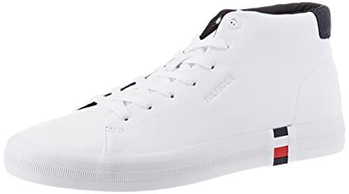 Tommy Hilfiger Herren Bjorn 5A Sneaker, White, 43 EU