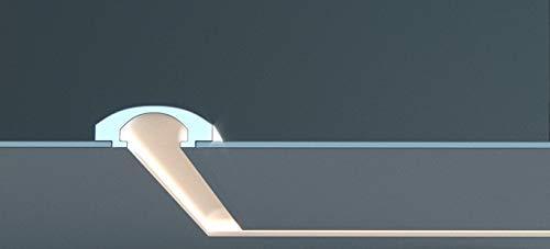 EL112 - Taglio di luce indiretta led a soffitto da incasso nel cartongesso
