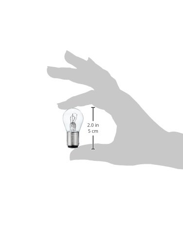 Philips 12499B2 Kugellampe Vision P21/5W Signallampe, 2er Blister