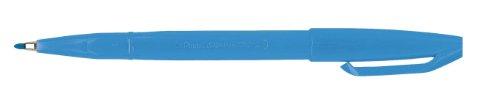 Pentel Sign Pen Stylo feutre à Pointe fibre fine Acrylique Bleu Ciel