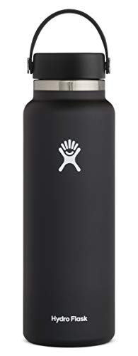 Product Image of the Hydro Flask Water Bottle - Stainless Steel & Vacuum Insulated - Wide Mouth 2.0...