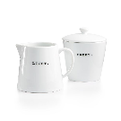 The Cellar Whiteware Words Collection Light & Sweet Sugar & Creamer, Created for Macy's & Reviews - Serveware - Dining & Entertaining - Macy's