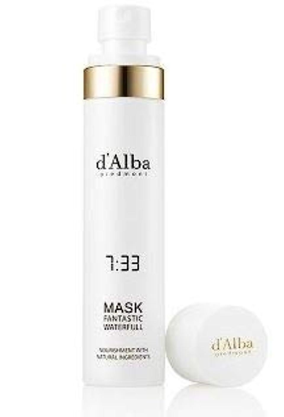 酸化物ぐるぐる蛇行[dAlba] Fantastic Waterfull Spray Mask 100ml /[ダルバ] ファンタスティック ウォーターフォール マスク100ml [並行輸入品]