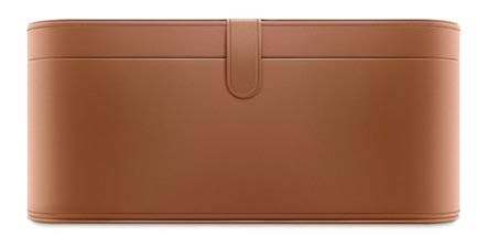 Dyson Tan Leather Presentation Case for Supersonic Hair Dryers, Part No. 968404-01