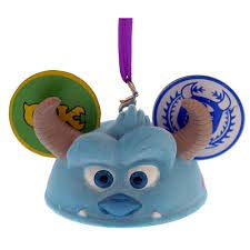 ORNAMENT Disney Parks Monsters Inc Sulley Ear Hat Park Pack June 2017