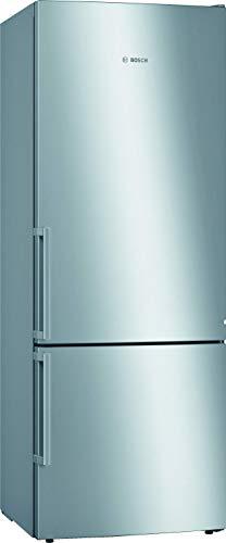 Bosch KGE58AICP Serie 6 Freistehende XXL-Kühl-Gefrier-Kombination / A+++ / 191 x 70 cm / 196 kWh/Jahr / Inox-antifingerprint / 377 L Kühlteil / 118 L Gefrierteil / LowFrost / VitaFresh
