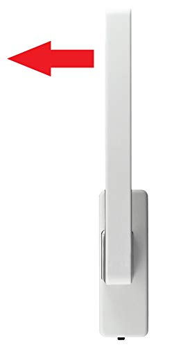 GU Schiebetür PSK Drehgriff DIRIGENT 966/976 DIN Rechts weiss mit Aussperrsicherung incl. SN-TEC Montageschlüssel