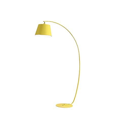 Lámpara Alta Lámpara de pie de Arco Moderna Lámpara de pie de Metal Lámpara de pie de Cuello Ajustable para Sala de Estar, Dormitorio, Sala de Estudio Lámpara de pie