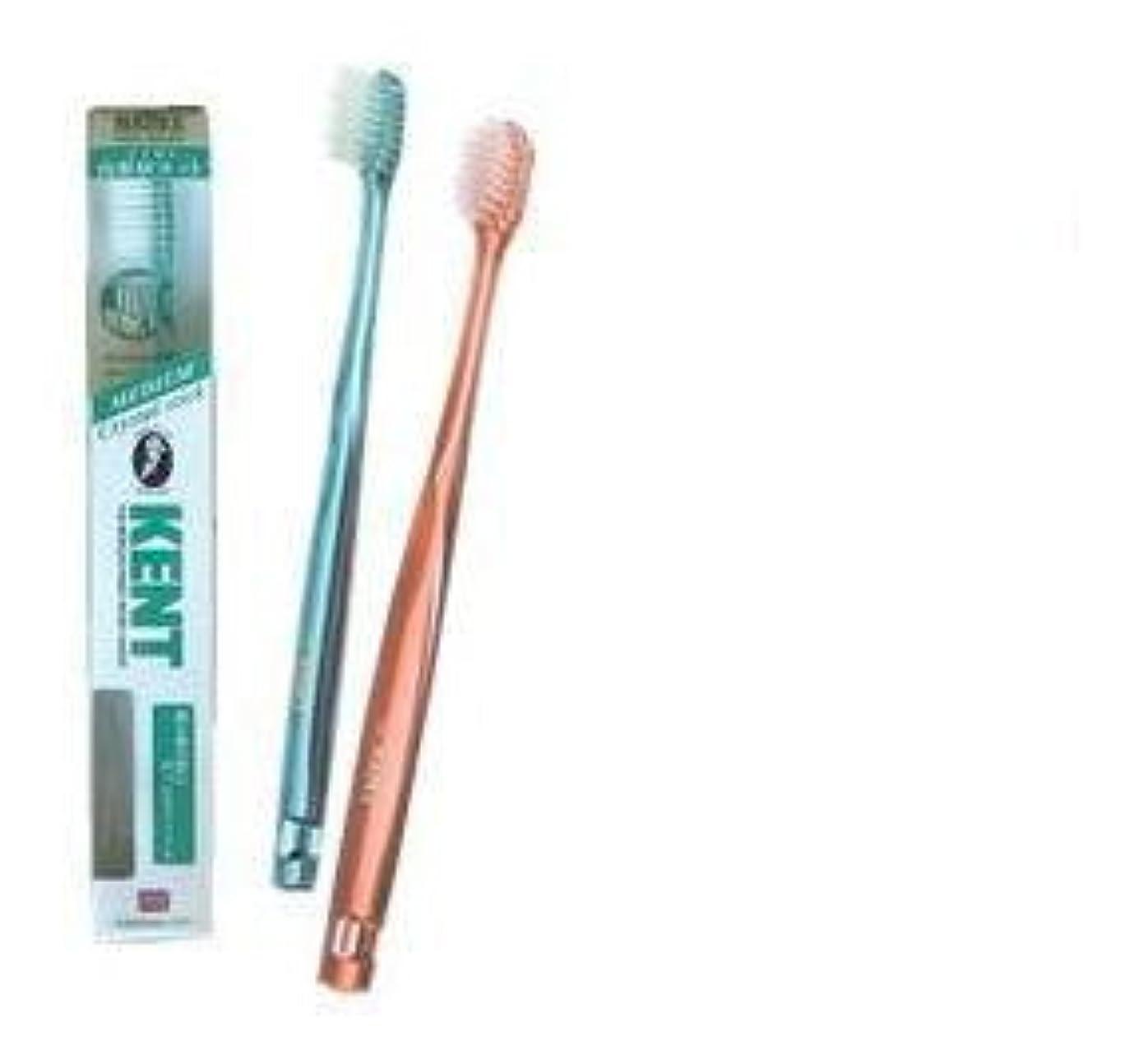 ローン見捨てる未接続KENT(ケント) クリスタルスティック ナイロン歯ブラシ コンパクトヘッド かため KNT9330