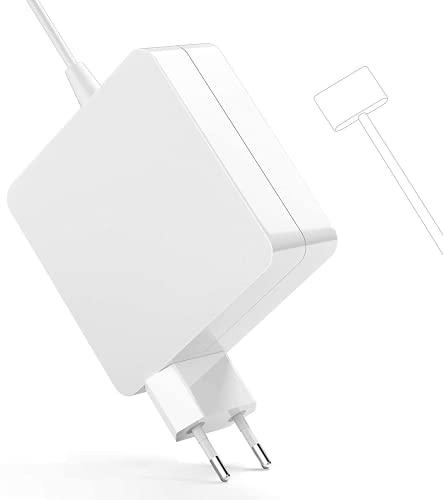SUAMLAND Kompatibel mit Mac Book Air Ladegerät, 45 W Ersatznetzteil Magnetisch 2 T-Spitze, Mit Mac Book Air 11 Zoll 13 Zoll - Mitte 2012, 2013, 2014, 2015, 2017 2018 Modelle A1465 A1466